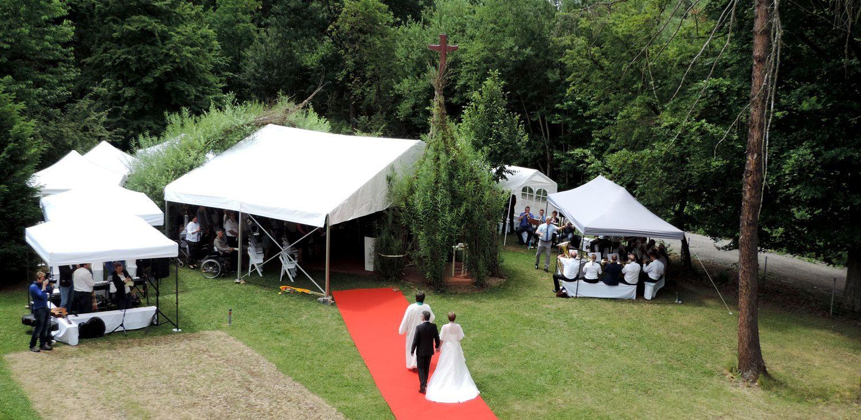 Hochzeit im Bernhäuser Forst